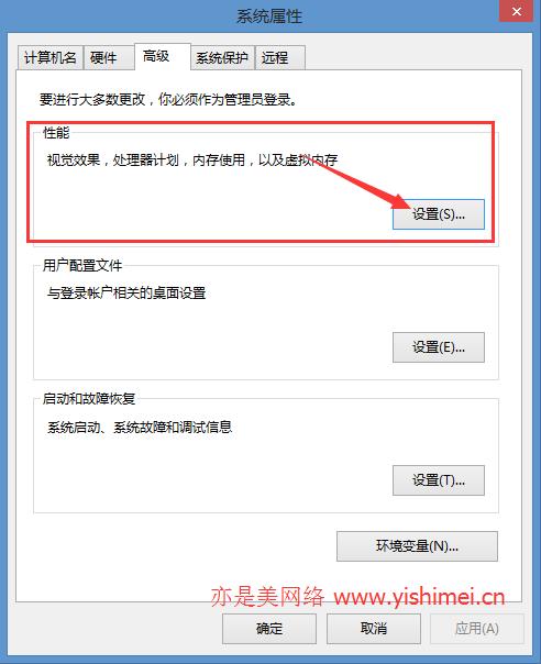 关闭虚拟内存解决win8/8.1硬盘读写占用率高的问题