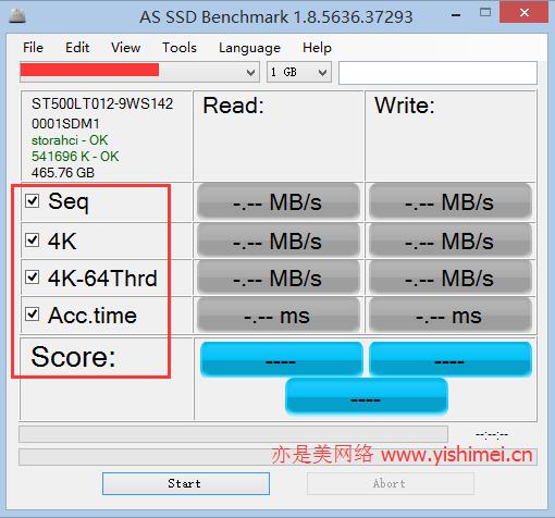 SSD性能评判:教你读懂利用AS SSD BenchMark测试SSD固态硬盘性能的参数